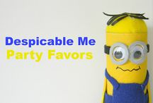 Stevens despicable me party