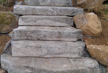 Concrète steps