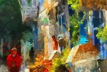 Peintures en ville