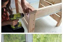 věci ze dřeva, truhlářství