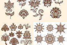 цветы-орнаменты