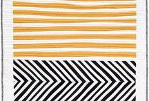 Csíkos quilt