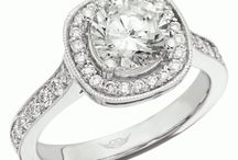 The Perfect Engagement Ring / Stunning rings by Martin Flyer.  All can be customized