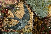 crazy quilt embroideries / by Janice Davey