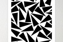 Abstract Art / Abstract art uses a visual language of shape, form, color and line to create a composition which may exist with a degree of independence from visual references in the world