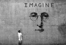 Imagine / Imagine all the people living life in peace