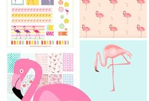 flamingos love!