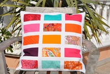 Quilted Cushion Covers / Photos of the quilted cuishion covers I have made / by skalabara quilts