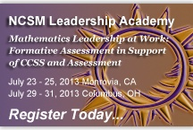 Leadership / Resources for leaders in mathematics education.