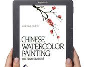 Chinese Watercolor Painting / A definitive work and peerless classic, this eBook is designed for artists and art lovers alike.  Leslie Tseng-Tseng Yu demonstrates the basic techniques of Chinese watercolor painting in a series of step-by-step illustrations accompanied by illuminating text. In a sensitive style that inspires as well as instructs, the author explains the subtle interplay of line and space, the materials used--brush, ink, inkstone and paper--and their rich historical backgrounds.