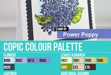 Copic Marker Palettes by Elaine Hughes
