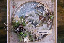 kartki bożonarodzeniowe scrapbooking