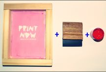 Mini Kit Serigrafia / Miniatura! Shablon de 15x12  Manigueta de 5 cm Tintas al agua!