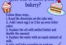 Baking Tips & Tricks / Tips and tricks to make baking better