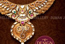 Gold Jewellery Design Necklaces