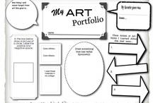 elementary art ideas / by Kristi Wenger
