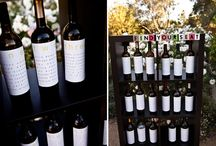 wine theme wedding inspirations