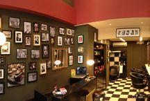 barber shops- tattoo shops