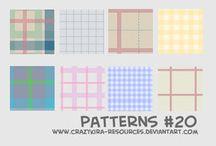 Pattern e brushes / pattern per Photoshop