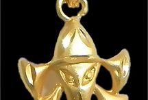 Pendant - 1gram gold plated