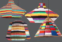 LAMPSHADES | Made in the Shade / From huts to hats and fishing baskets, our lampshades are uniquely inspired by traditional African living. Our three core ranges, Signature, Overdye, and Raffia, come in many colour, texture, and size combinations, which can all be customized to suit your imagination!