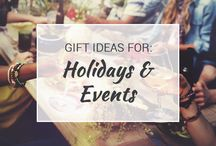 Gift Ideas for Holidays & Events