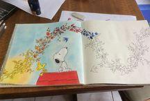 Pinturas e outras artes