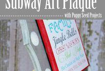 Printables and subway signs
