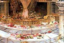 Antique / Greek and roman mythology