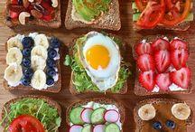 Jídlo a vaření / Nástěnka slouží především jako přehled našeho zdravého jídelníčku a také jako inspirace pro další vaření.