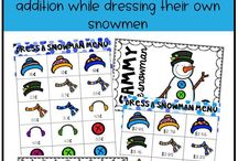 Winter Activities in the Classroom / Put a little seasonal fun into your classroom curriculum with these engaging Winter activities!