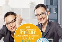 Make the Right Choice for your Business / Help keep your employees hydrated at work with a water purification system from H2O International.