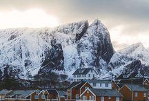 Bilder fra Norge reisemål