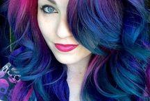 Hair …color me a rainbow