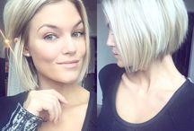 Cheveux Courts Blonds
