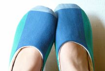 Sloffen / slippers / by Nynke Stone