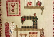 Sewing patchwork design