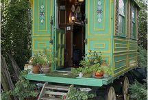 Shepherds Huts & Gypsy caravans