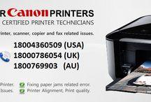 canon printer helpline 18004360509