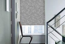 Interiors: Grey Blinds