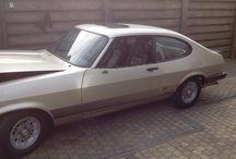 Ford Capri 2.3S 1978 / Deze auto gaan we het komende jaar restaureren.