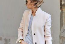 Coat, jacket, navy
