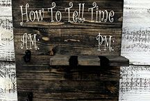 Laser Engraved How To Tell Time