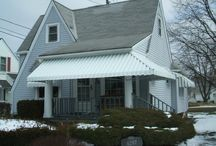 Awnings / Awnings for doors, porches, and windows by Fairview Home Improvement in Cleveland, Ohio.