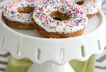 Muffins, Doughnuts + Pastries