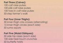 Workouts / by Kristen Dyke