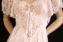 vintagr night  gowns