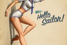 Pin up hello sailor!!!
