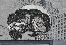 kobayashi / street art, stencil, graffiti