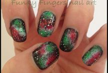 Re Pins Festive Nail Designs